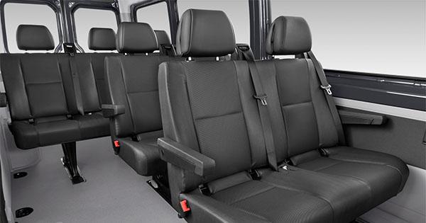 Mercedes Benz Sprinter - Minibus met chauffeur