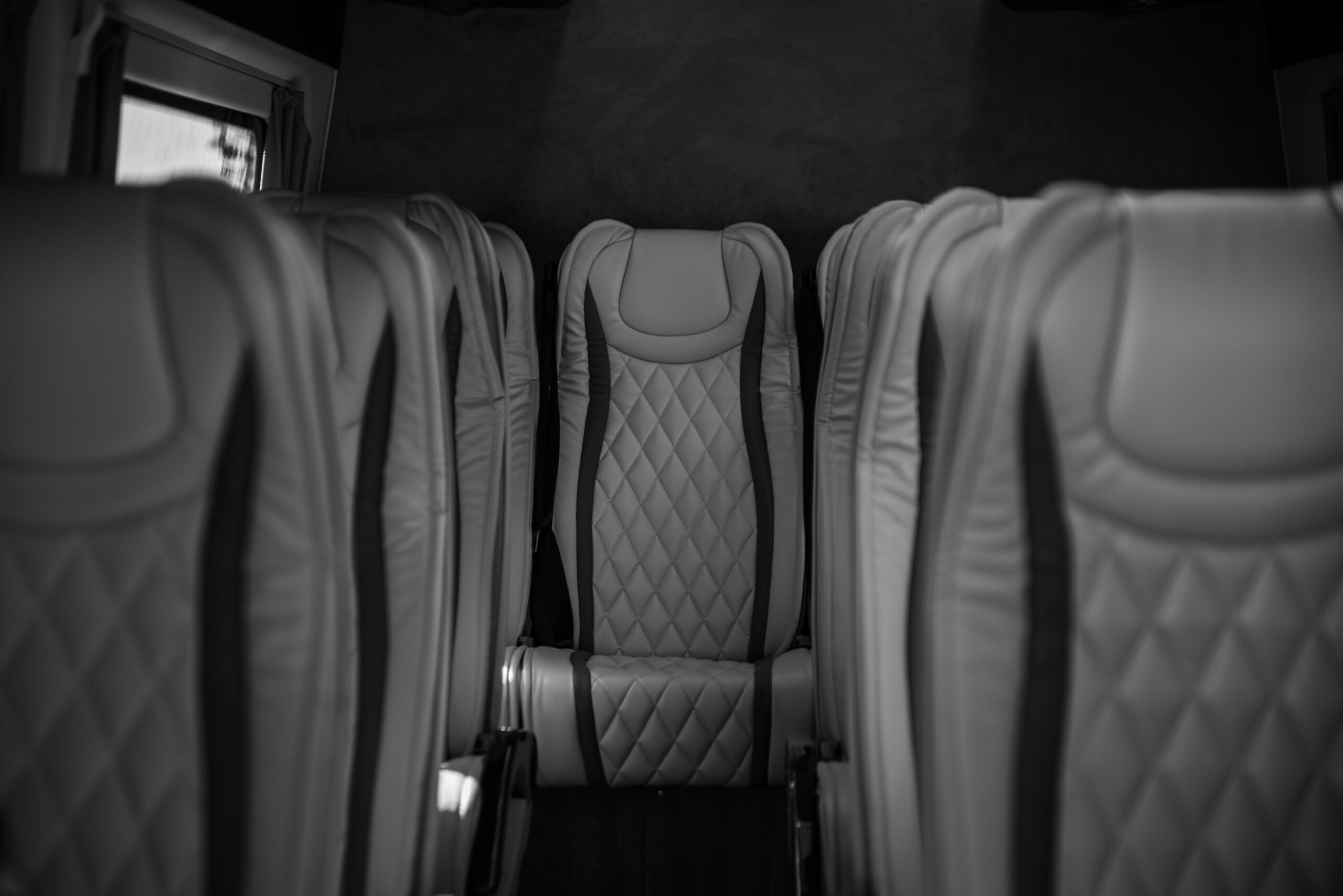 VIP minibus met chauffeur